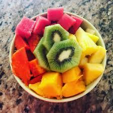 Plato de fruta