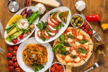 comida italiana en México 1