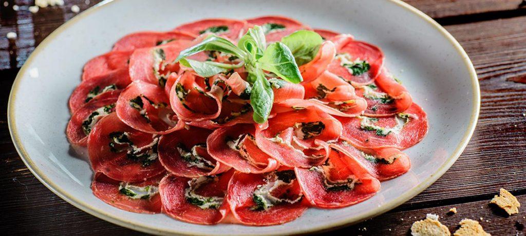 comida italiana_ carpaccio